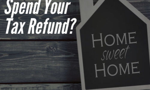 How Will You Spend Your Tax Refund?